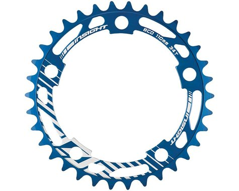 INSIGHT 5-Bolt Chainring (Blue) (37T)