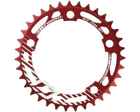INSIGHT 5-Bolt Chainring (Red) (43T)