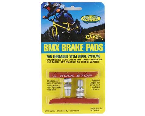 Kool Stop BMX Brake Pads (Salmon) (Threaded) (1 Pair)