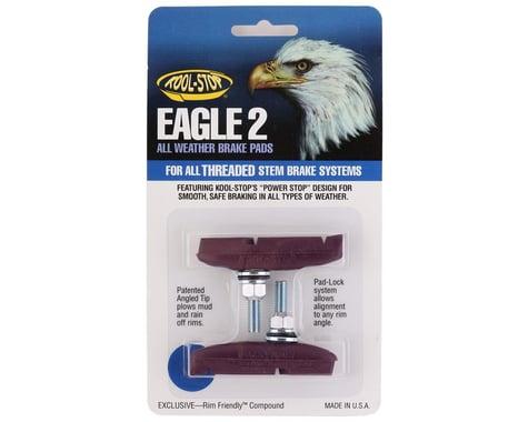 Kool Stop Eagle 2 Brake Pads (Purple) (1 Pair)