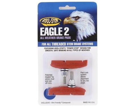 Kool Stop Eagle 2 Brake Pads (Salmon) (1 Pair)