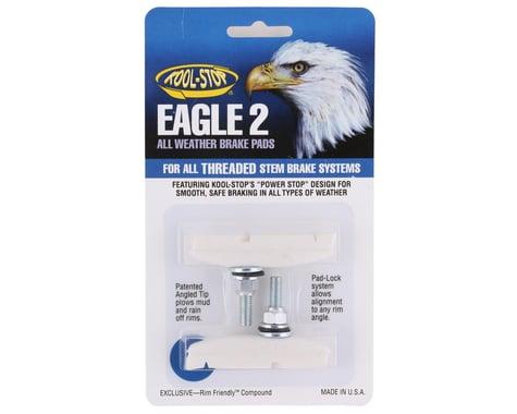 Kool Stop Eagle 2 Brake Pads (White) (1 Pair)