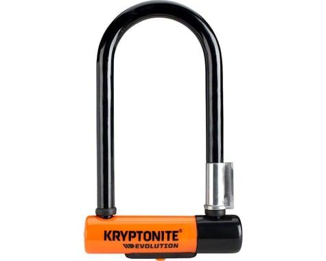 """Kryptonite Evolution Mini-7 U-Lock w/ 4' Flex Cable (3.25 x 7"""")"""