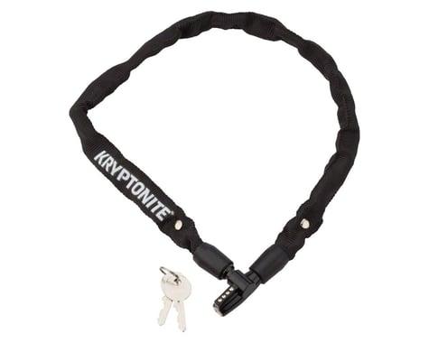 Kryptonite Keeper 465 Chain Lock w/ Keys (Black) (2.125' x 4mm)