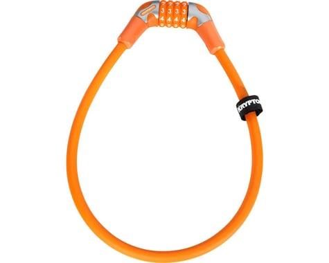 Kryptonite KryptoFlex 1265 4-Digit Combo Cable Lock (Medium Orange)