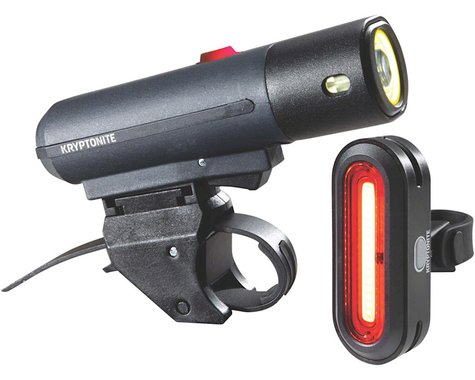 Kryptonite Alley F-650/Avenue R-50 Headlight & Tail Light Set (Black)