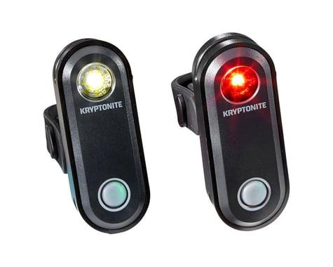 Kryptonite Avenue F-65/R-30 Headlight & Tail Light Set (Black)