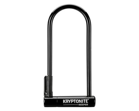 """Kryptonite Keeper U-Lock Keyed (Black) (4 x 10"""")"""