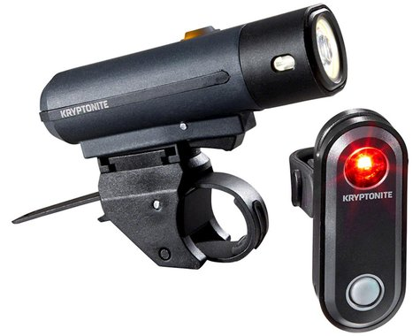 Kryptonite Street F-150/Avenue R-30 Headlight & Tail Light Set (Black)