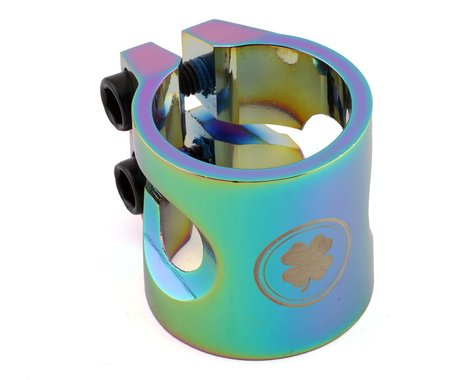 """Lucky Scooters Standard Pro Scooter Clamp (Neo Chrome) (1-1/4"""")"""