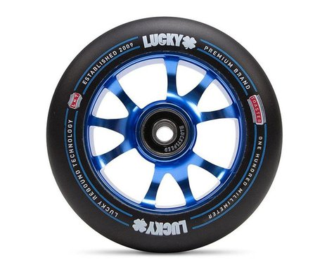 Lucky Scooters Toaster Pro Scooter Wheel (Blue/Black) (1) (100mm)