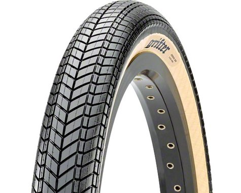 """Maxxis Grifter Dual Compound BMX Tire (Black/Skinwall) (1.85"""") (20"""" / 406 ISO)"""