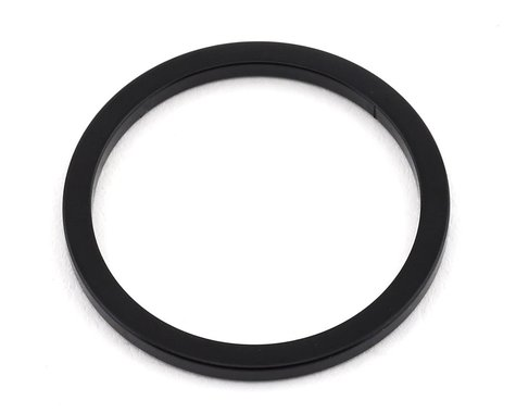 "MCS Aluminum Headset Spacer (1"") (Black) (2mm) (1"")"
