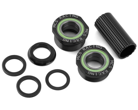 MCS Euro Bottom Bracket Kit (Black) (19mm)