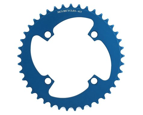 MCS 4-Bolt Chainring (Blue) (41T)