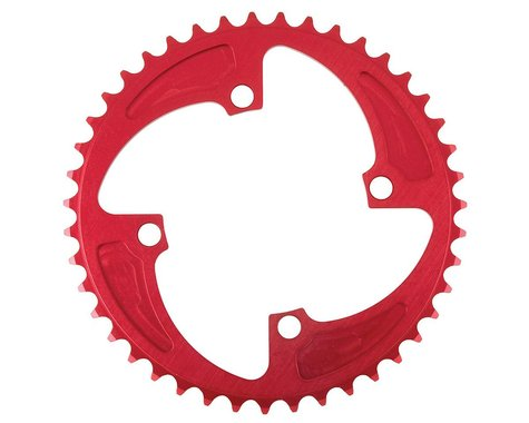 MCS 4-Bolt Chainring (Red) (42T)
