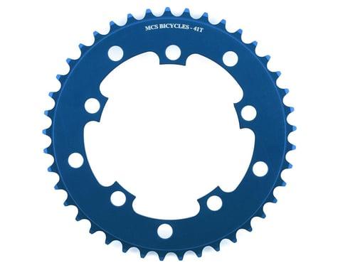 MCS 5-Bolt Chainring (Blue) (41T)