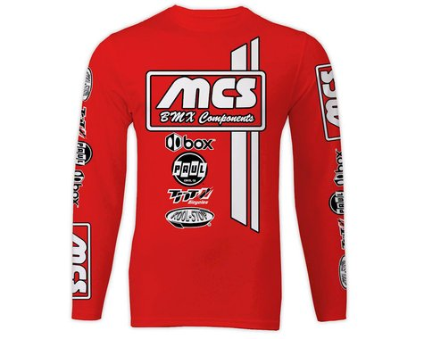 MCS Long Sleeve Jersey (Red) (M)