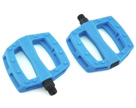 """Merritt P1 PC Pedals (Tar Heel Blue) (9/16"""")"""