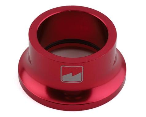 """Merritt High Top Headset Cap (Red) (1-1/8"""")"""
