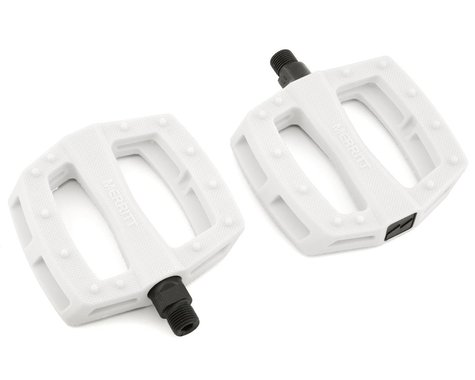 """Merritt P1 PC Pedals (White) (9/16"""")"""