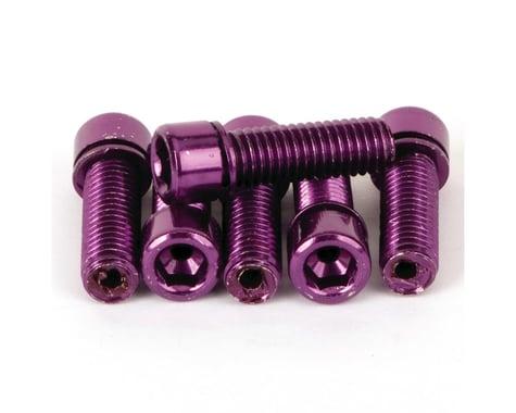 Mission Hollow Stem Bolt Kit (Purple) (8 x 1.25mm)