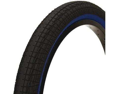 "Mission Fleet Tire (Black/Blue) (2.4"") (20"" / 406 ISO)"