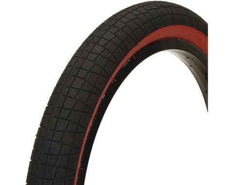 """Mission Fleet Tire (Black/Red) (2.4"""") (20"""" / 406 ISO)"""