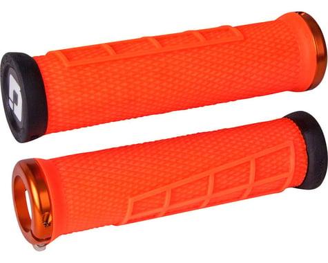 ODI Elite Flow Lock-On Grips (Orange)