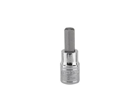 Park Tool Socket (3/8 Drive) (1668 Hex Bit) (8mm) (26.5mm Long)