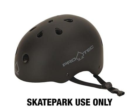 Pro-Tec Classic Skate Helmet (Matte Black) (L)