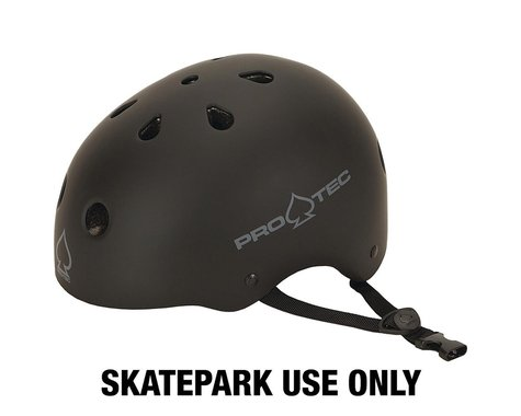 Pro-Tec Classic Skate Helmet (Matte Black) (XL)