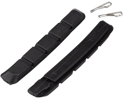 Promax B-1 Cartridge V-Brake Pad Replacement Inserts (Black) (70mm) (1 Pair)