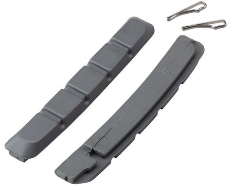 Promax B-1 Cartridge V-Brake Pad Replacement Inserts (Grey) (70mm) (1 Pair)