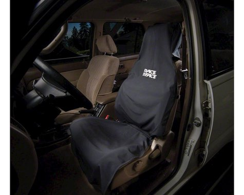 Race Face Car Seat Cover (Black) (One Size)