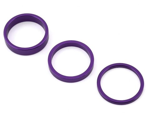 "Rant Stack Em Headset Spacer Kit (90s Purple) (1-1/8"")"