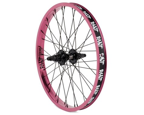 Rant Party On V2 Cassette Rear Wheel (Pepto Pink) (20 x 1.75)