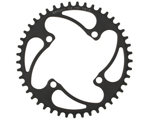 RENNEN 4-Bolt Decimal Chainring (Black) (36.1T)
