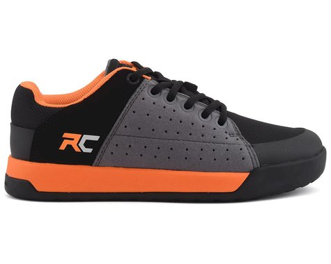 Ride Concepts Youth Livewire Flat Pedal Shoe (Charcoal/Orange) (Youth 6)