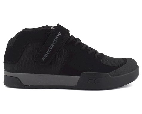 Ride Concepts Wildcat Flat Pedal Shoe (Black/Charcoal) (10)