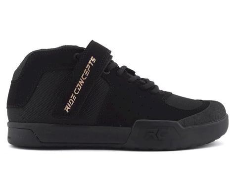 Ride Concepts Wildcat Women's Flat Pedal Shoe (Black/Gold) (8)