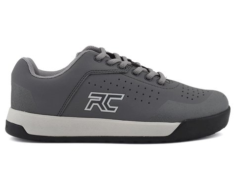 Ride Concepts Hellion Women's Flat Pedal Shoe (Charcoal/Mid Grey) (8)