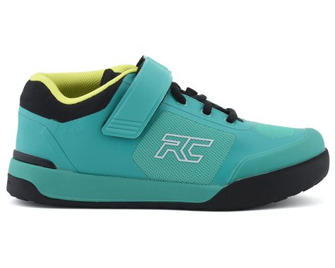 Ride Concepts Women's Traverse Clipless Shoe (Teal/Lime) (9.5)