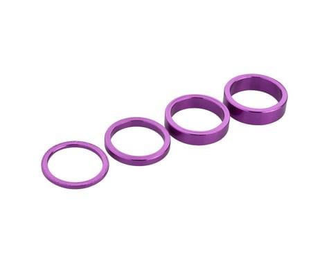 """Salt Headset Spacer Set (Purple) (1-1/8"""")"""
