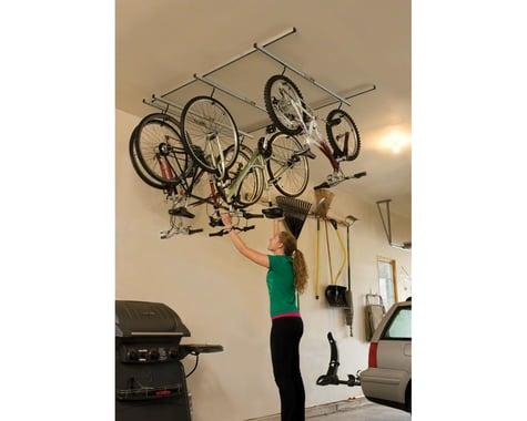 Saris Glide Ceiling Bike Storage Rack (4 Bikes)