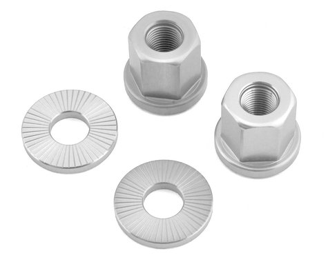 """The Shadow Conspiracy Featherweight Alloy Axle Nuts (Polished) (3/8"""")"""