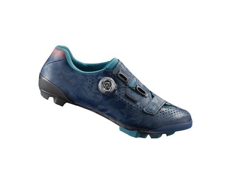 Shimano RX8 Women's Gravel Shoes (Navy) (44)