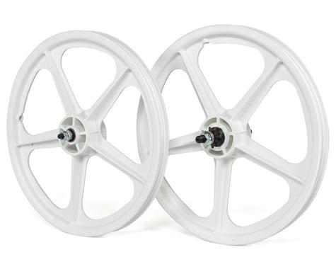 """Skyway Tuff Wheel II 20"""" Wheel Set (White) (14mm Rear Axle) (20 x 1.75)"""