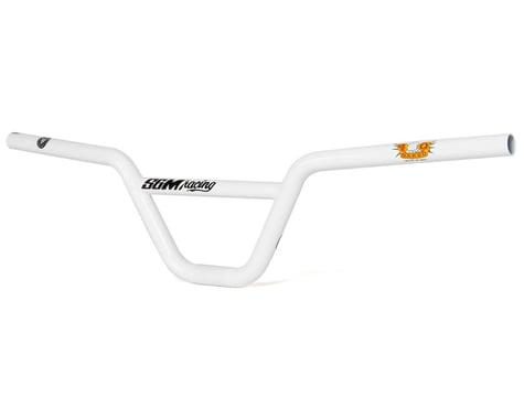 """S&M Race Cruiser Bars (White) (5.75"""" Rise)"""