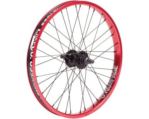 Stolen Rampage Cassette Wheel (Black/Red) (20 x 1.75)